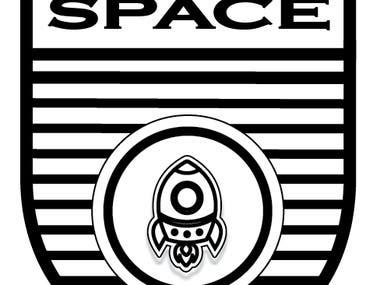MY SPACE T-SHIRT LOGO DESIGN