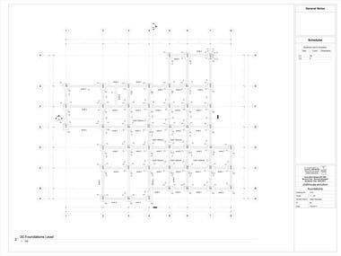 Building foundation design