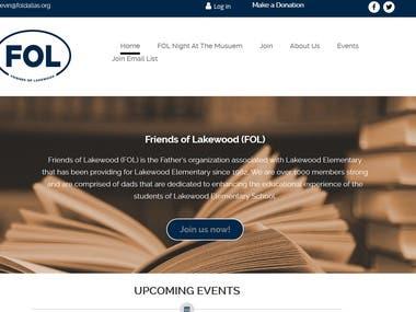 FOL- Friends of Lakewood