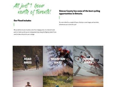 Born to Ride - Website Design