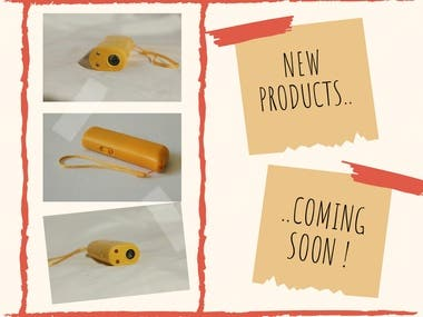 New products coming soon..