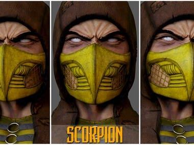 Mortal Kombat-SCORPION