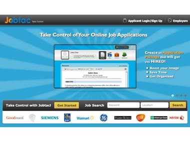 Jobtac Online Recruitment Website