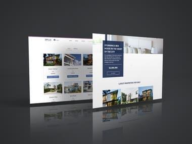 Wix Real estate website showcase