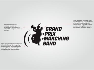 Logo Grandprix Marchingband 2016