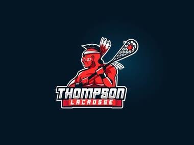 THOMPSON LACROSSE LOGO