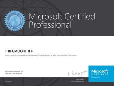 MCP Certification