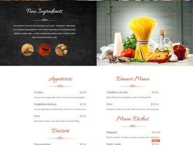 Website Design || Little Italy