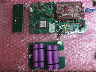 GSM/GPS Tracking system