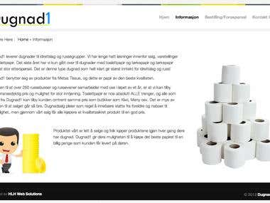 Dugnad1 Website