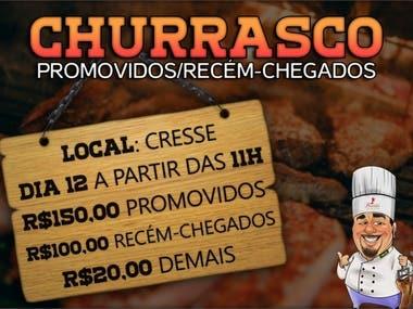 Convite/Churrasco