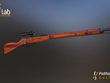 Mosin Rifle LowPoly Unreal Engine