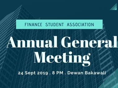 Poster : Annual Grand Meeting