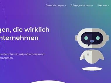 Digital Dynamic website