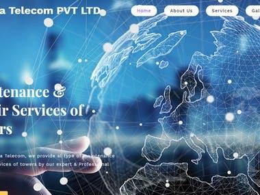 Informative Website For Telecom