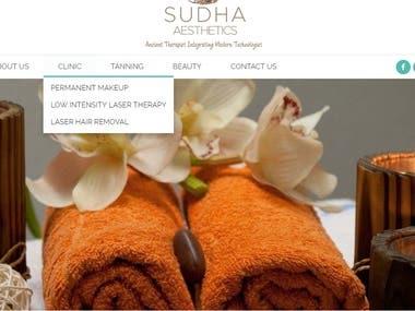 Beauty Clinic Website
