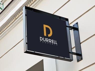 Durrell Property Logo Design