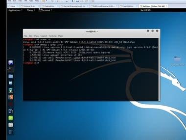 Kali Linux running on VM , Personal Setup