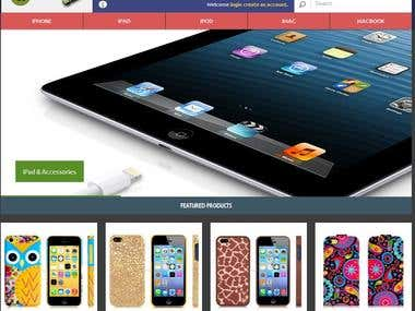 AppleKart.com eCommerce website development