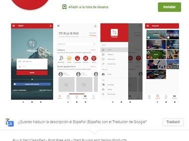 Subida de app móvil a la Play Store