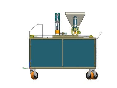 design of sweet manufacturing machine