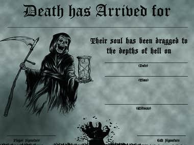 Game Certificate
