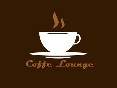 "Logo for shop ""Coffe Lounge"""