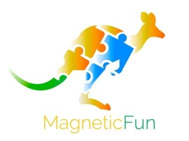 "Logo for Internet-shop ""Magnetic Fun"""