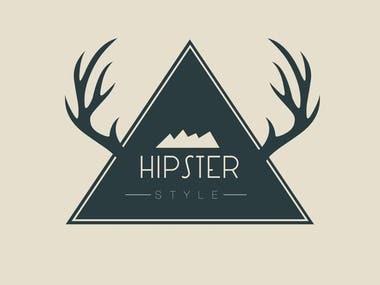 """Logo for Internet-shop """"Hipster"""""""