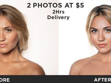 photo restoration and retouching,manipulation