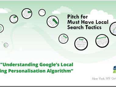 Understanding Google's Local Ranking