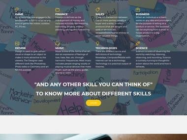 Social media website for student and teacher