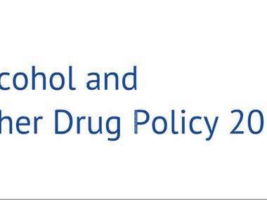 Prezi: Alcohol & Drug Policy