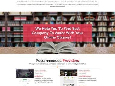 http://www.onlineclasshelpreview.com - Wordpress