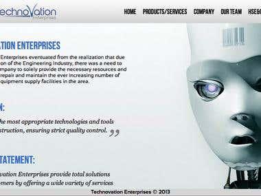 TechnoVation Website