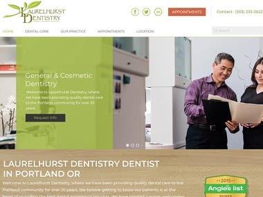 Dentist Web UI Design