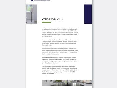 Berry Support Solution Brochure