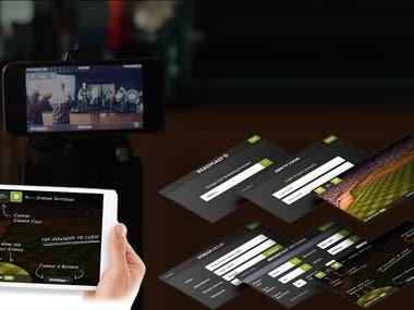 Live-Streaming App