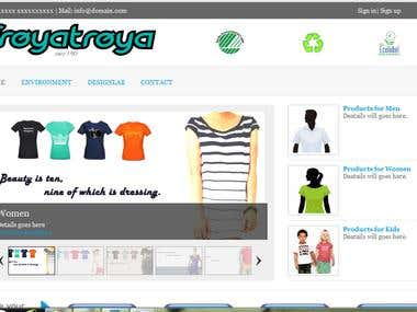 online T-shirt design