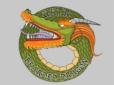 Dragon Logo design