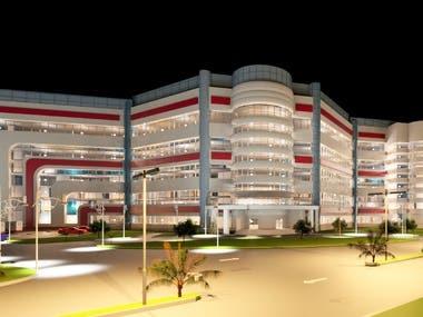 General hospital interface design