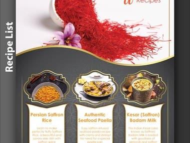 Recipe Design Brochure