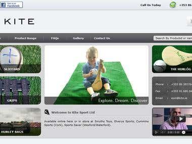 Website Design & Development - www.kite.ie