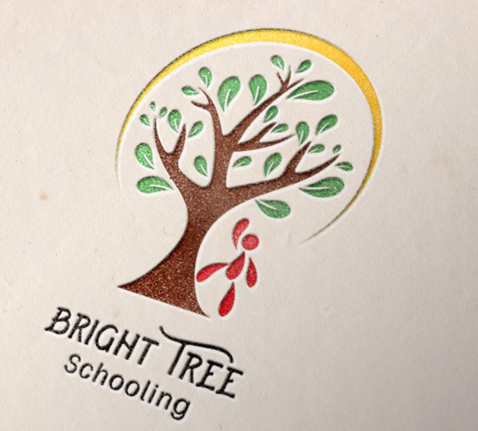 Bright Tree - Educational Business Logo