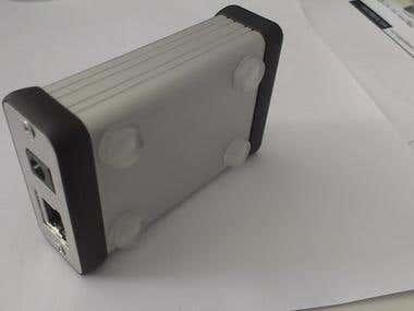 Ethernet to RS-485 converter hw design