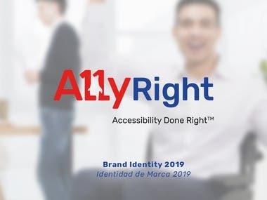 Ally Right Brand Identity Design