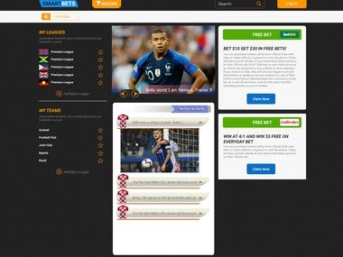 Soccer Betting Site