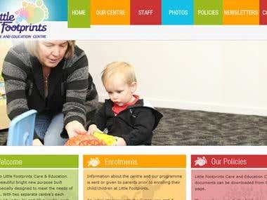 Website Design:- www.littlefootprints.co.nz
