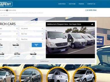 Car Rent Web Application.