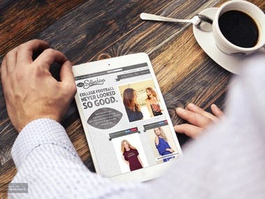 Ecommerce Site with Shopify.